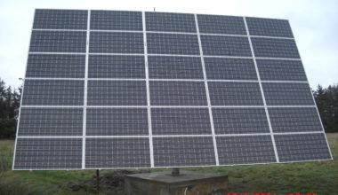 Solcelleanlæg tracker