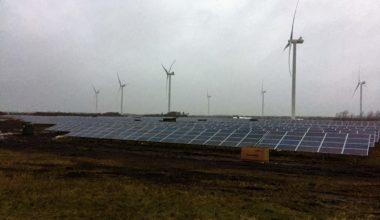 Solcellepark vindmøller solcelleanlæg