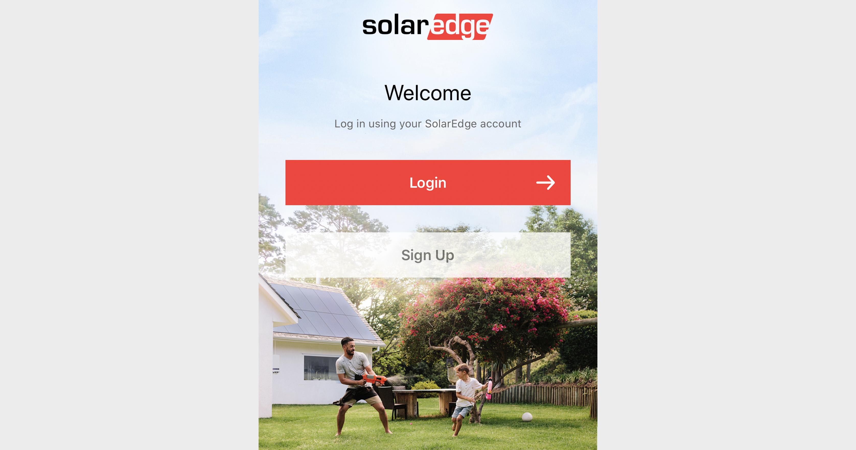 Ny app fra SolarEdge